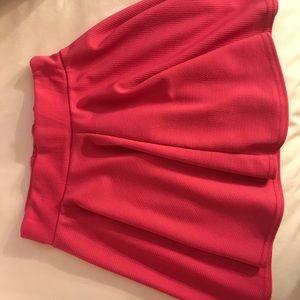 Dresses & Skirts - Hot Pink Skater Skirt